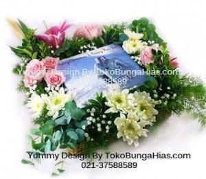 Bunga Valentine dari Kue Romantis