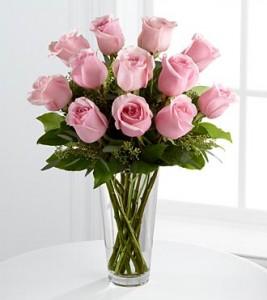 karangan bunga hari ibu soft pink roses
