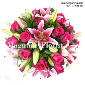 Bunga-Lily-Casablanca-Stargazer-pink