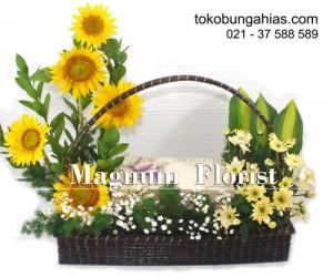 Rangkaian-bunga-matahari,-aster,-harvest-cakes