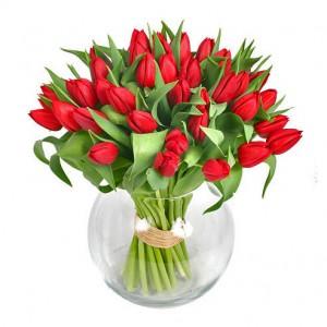 vas-bunga-tulip-merah-cantik