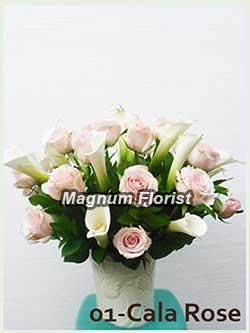 Buket Bunga Meja 01 Cala Rose