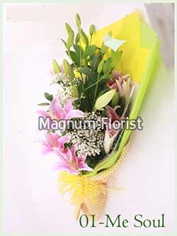 Buket Bunga Tangan 01- Me Soul