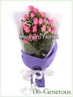 Buket Bunga Tangan 06- Generous