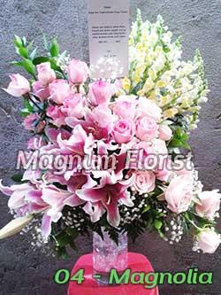 Bunga-Lily-warna-pink-04-Magnolia
