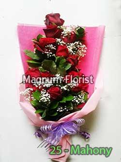 Buket Bunga Tangan 25-Mahony