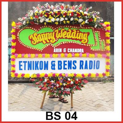 Karangan Bunga Papan Selamat BS 04