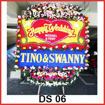 Karangan Bunga Papan Selamat DS 06