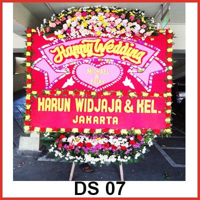 Bunga-Papan-Pernikahan-DS07