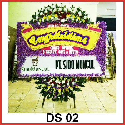 Karangan Bunga Papan Selamat DS 02