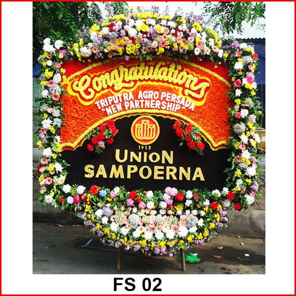 Karangan Bunga Papan Selamat FS 02