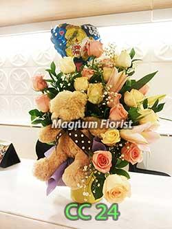 Bunga Untuk Ucapan Bayi CC 24