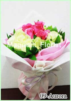 Buket Bunga Tangan 09-Aurora