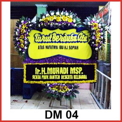 Karangan Bunga Papan Duka DM 04
