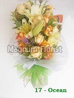 Buket Bunga Tangan 17-Ocean