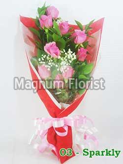Buket Bunga Tangan 03-Sparkly