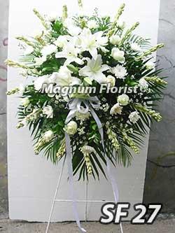 Karangan bunga standing FS 27