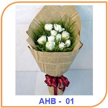 Buket Bunga Ulang Tahun AHB - 01
