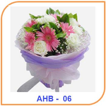 Buket Bunga Ulang Tahun AHB - 06