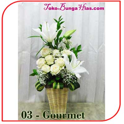 Buket Bunga Meja 03-Gourmet