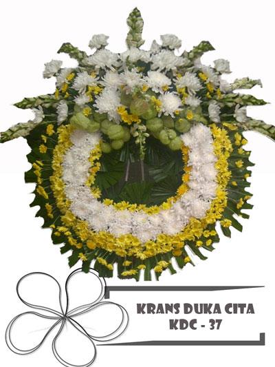 krans-duka-cita-lingkaran-putih-1-bunga-KDC 37